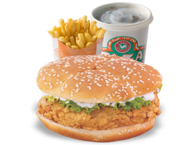 Chicken Burger Meal