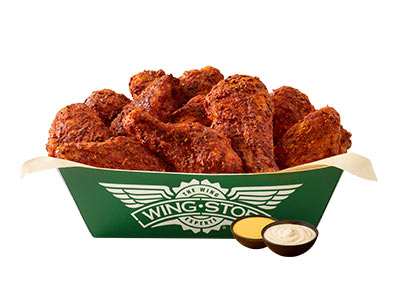 10 Pieces Classic Wings Platter