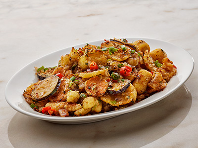 Spicy Crispy Vegetables Salt And Pepper V
