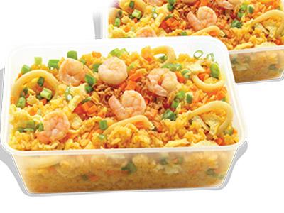 Seafood Chao Fan Grand Platter