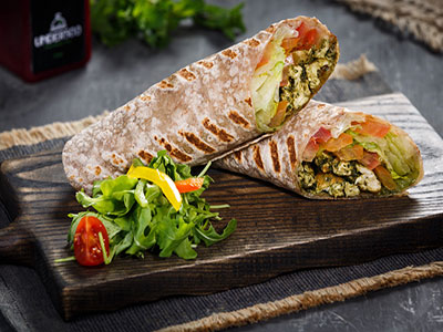 Chicken Basil Wrap