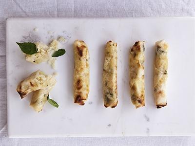 Halloumi Cheese Rolls