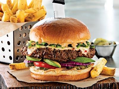 Alexs Santa Fe Burger