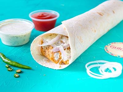 Chicken Shami Roll