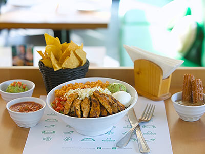 Burritos Grilled White Fish