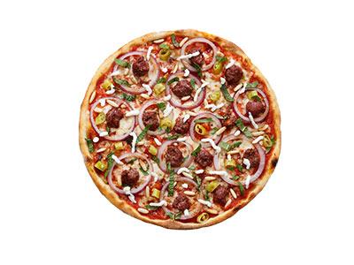 Sujuk Reale Pizza