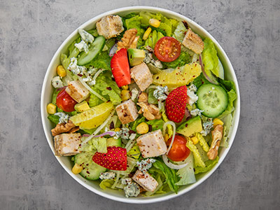 Courageous Chopped Salad
