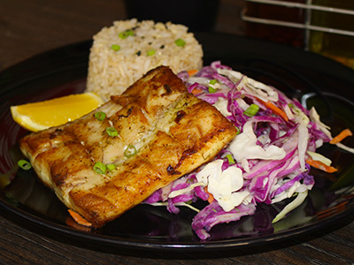 Marinated Grilled Fish Fillet