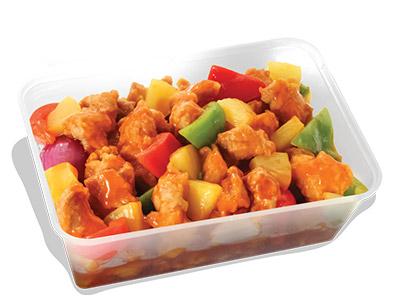 Stir Fry Chicken Sweet & Sour Sauce Grand Platter