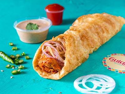 Chicken Reshmi Roll