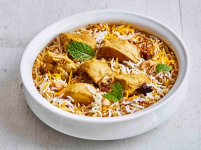 Dum Murgh Biryani Chicken