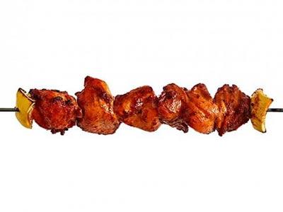 Chicken Achari Tikka Kebab