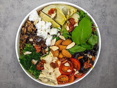 Mediterranean Mezza Bowl