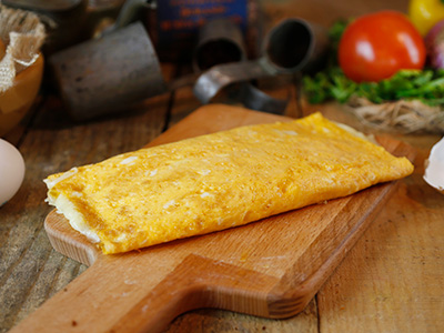 Cheese Plain Omelette