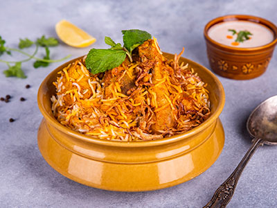 Sindhi Biryani - Chicken