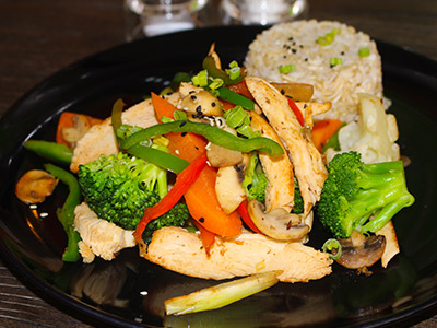 Fit Food Grilled Chicken And Veggie