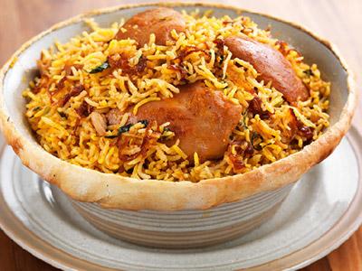 Chicken Saffron Biryani