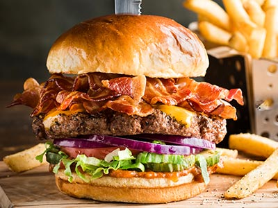 Ultimate Bacon Burger