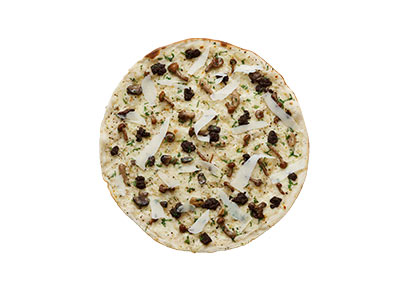 Porcini And Truffle Pizza