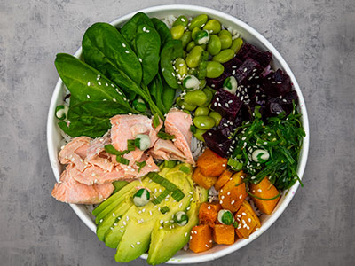 Salmon Samurai Bowl
