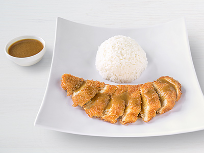 Fried Chicken Katsu Curry
