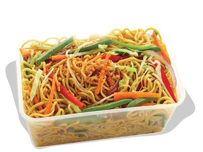 Veg Hakka Noodles Grand Platter