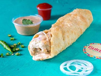 Chicken Malai Roll