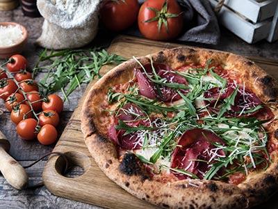 Bresaola & Rughetta Pizza