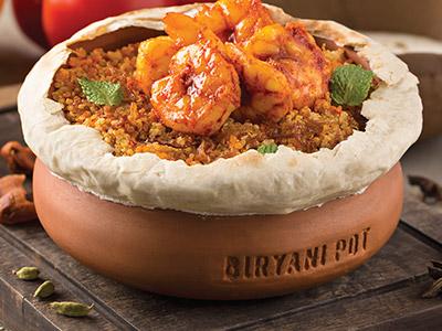 Biryani Prawn Quinoa