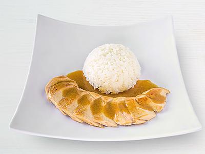 Grilled Corn-fed Chicken Katsu Curry