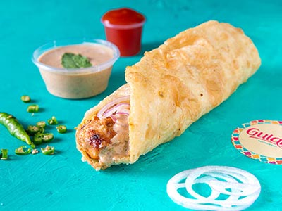 Chicken Tikka Boti Roll