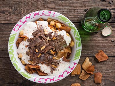 Chicken Shawarma Fatteh