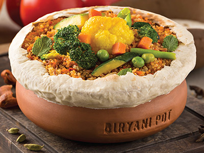 Biryani Vegetable Quinoa