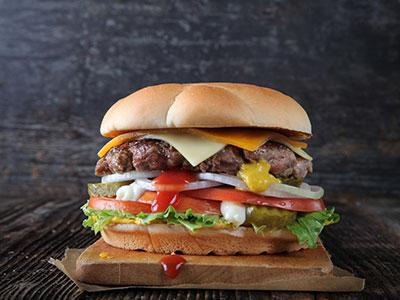 60s Burger - Single