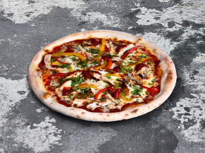 Chicken With Spicy Arrabiata Sauce Pizza