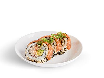 Salmon Dragon Roll