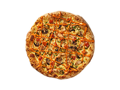 Large Stuffed Crust Spicy Chicken Ranch