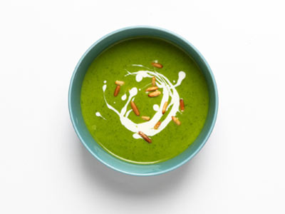 Super Green And Tahini Soup