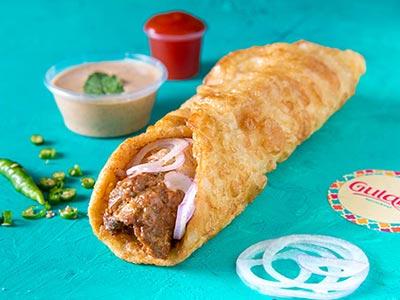 Beef Seekh Kebab Roll