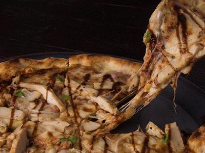 Chicken Barbecue Pizza