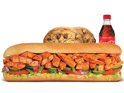 Peri Peri Chicken Footlong Meal