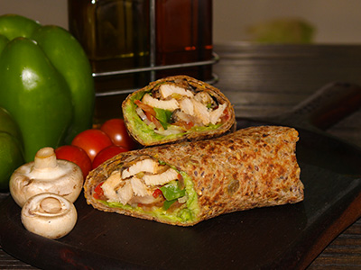 Fit Food Chicken And Veggie Wrap