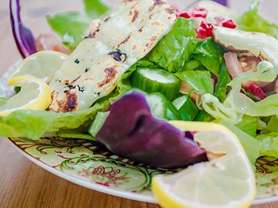 Halloumi Cheese Salad
