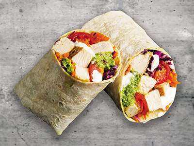Chicken Avopesto Wrap