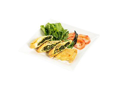 Ottoman Borek With Spinach And Cheese