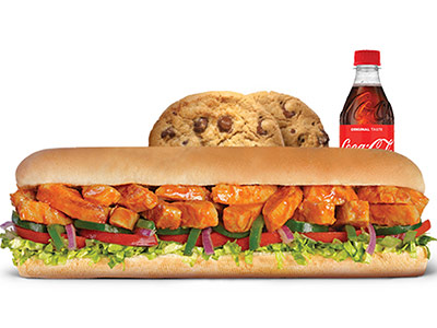 Chicken Tikka Footlong Meal