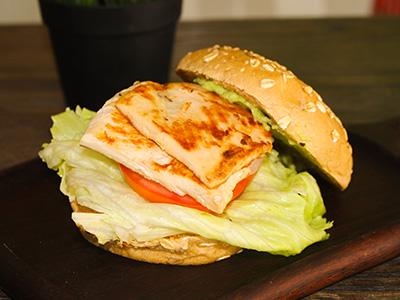 Light Chicken Burger