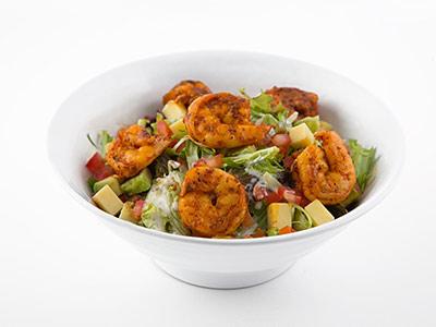 Grilled Shrimps Salad
