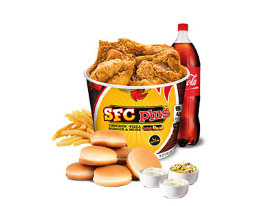 21 Pieces Chicken