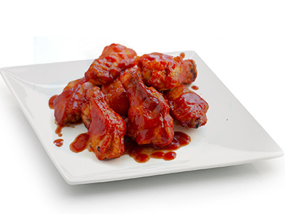 Bbq Chicken Wings - 6 Pieces